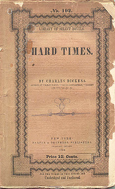 essay on hard times by charles Free dickens hard times papers, essays, and research papers charles dickens wrote hard times as an charles dickens hard times essays to show the injustices of life.